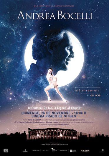 Andrea Bocelli i el millor patinatge sobre gel al Cinema Prado amb l'espectacle A Legend of Beauty