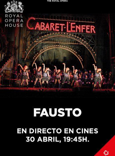 Fausto (en directe Royal Opera House)