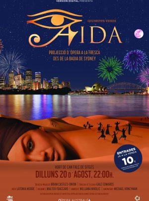 Aïda (Projecció  d'òpera a la Fresca Festa Major de Sitges)