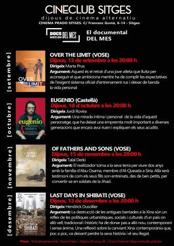 El Documental del mes arriba al Cinema Prado