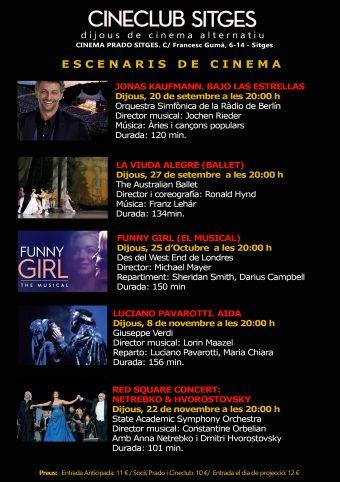 Els Dijous de cinema alternatiu arriben al Cinema Prado