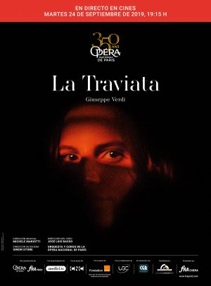 La traviata. En directe des de l'Opera de Paris.