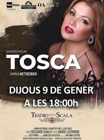 TOSCA amb Anna Netrebko
