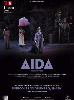 Aida en directe des del Liceu
