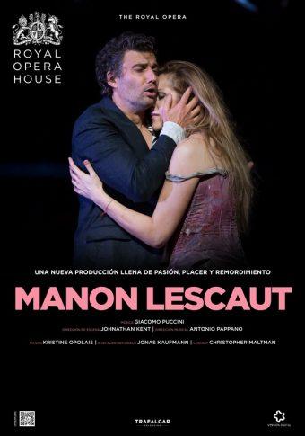 Manon Lescaut l'1 de desembre al Cinema Prado. Entrades ja a la venda
