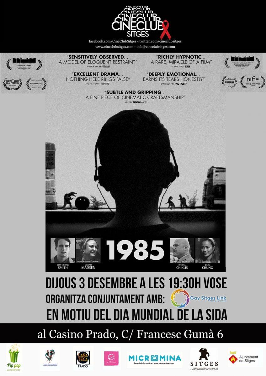 Cineclub Sitges s'afegeix al Dia de la lluita contra la Sida amb '1985'