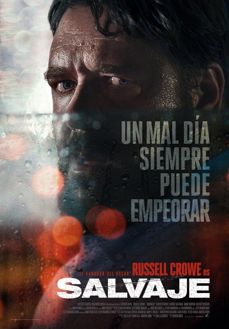 """Russell Crowe és """"SALVAJE"""""""