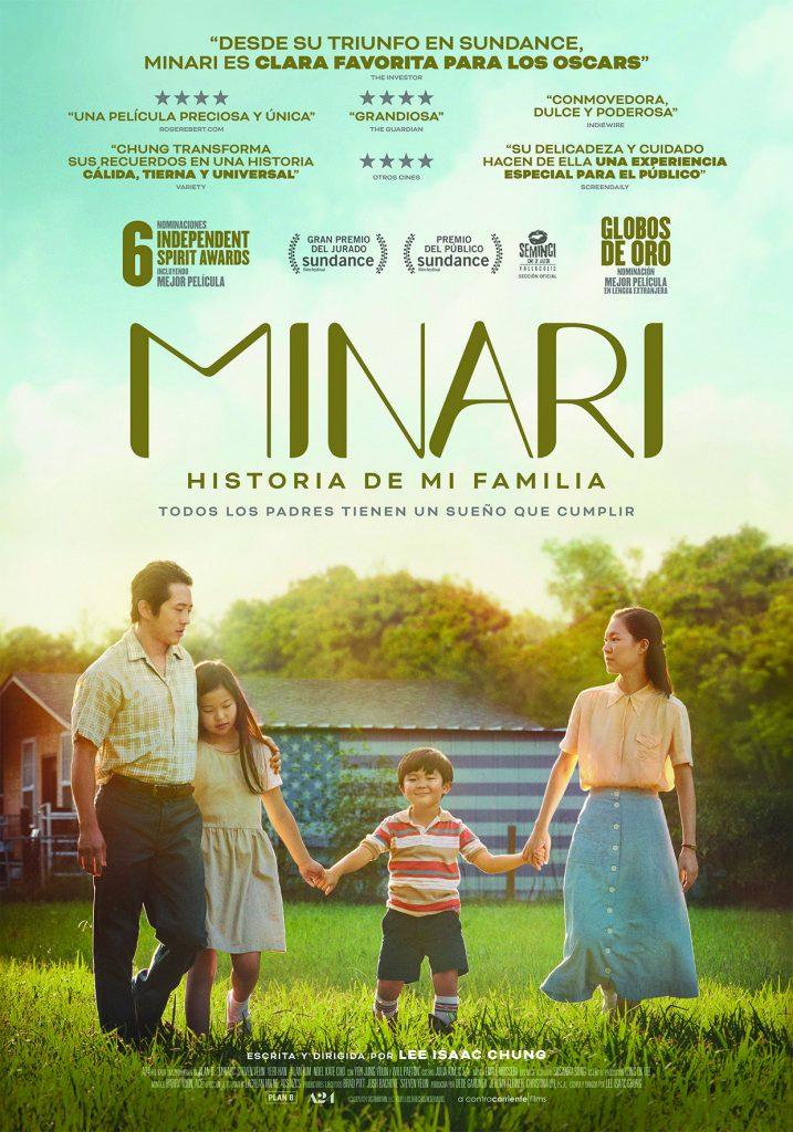 La nominada Minari a Cinema Ribes