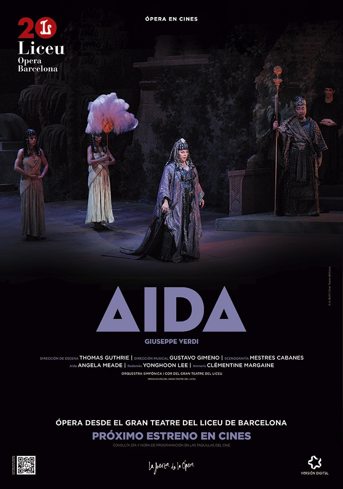 Cinema Prado presenta Aida del Liceu