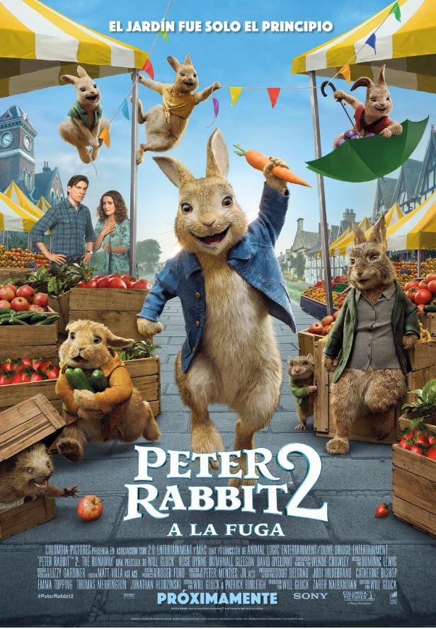 Peter Rabbit 2 arriba al Prado